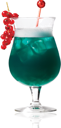 cocktail royal blue